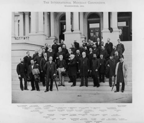 The International Meridian Conference, October 1884