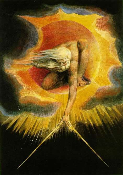 'The ancient of days' by William Blake, 01794