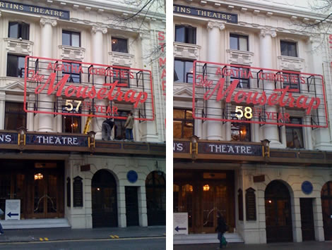 The Mousetrap at 58