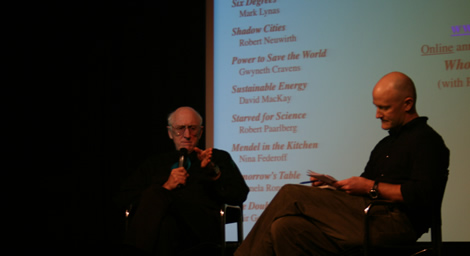 Stewart Brand at the ICA