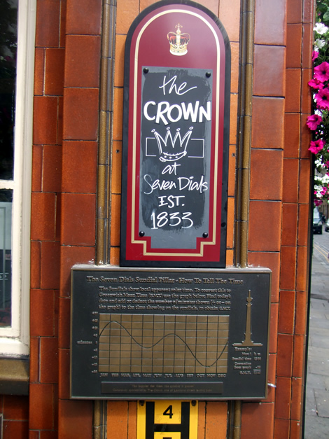 The Crown, 7 Dials